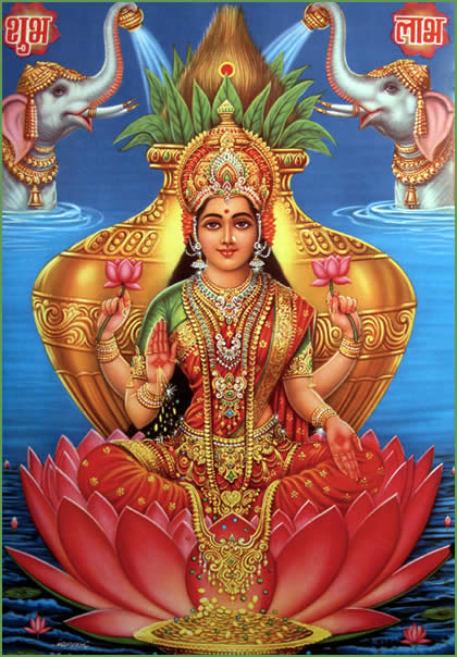 Soundarya Lakshmi – The Goddess of Beauty