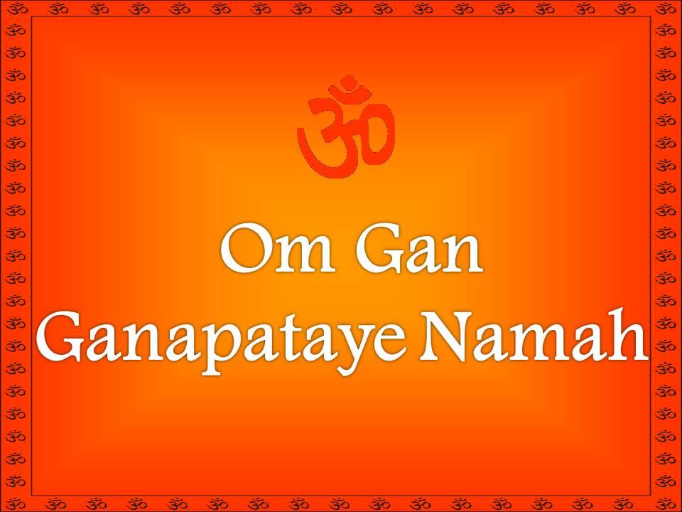 Ganesh Maha Mantra – Om Gam Ganapataye Namaha