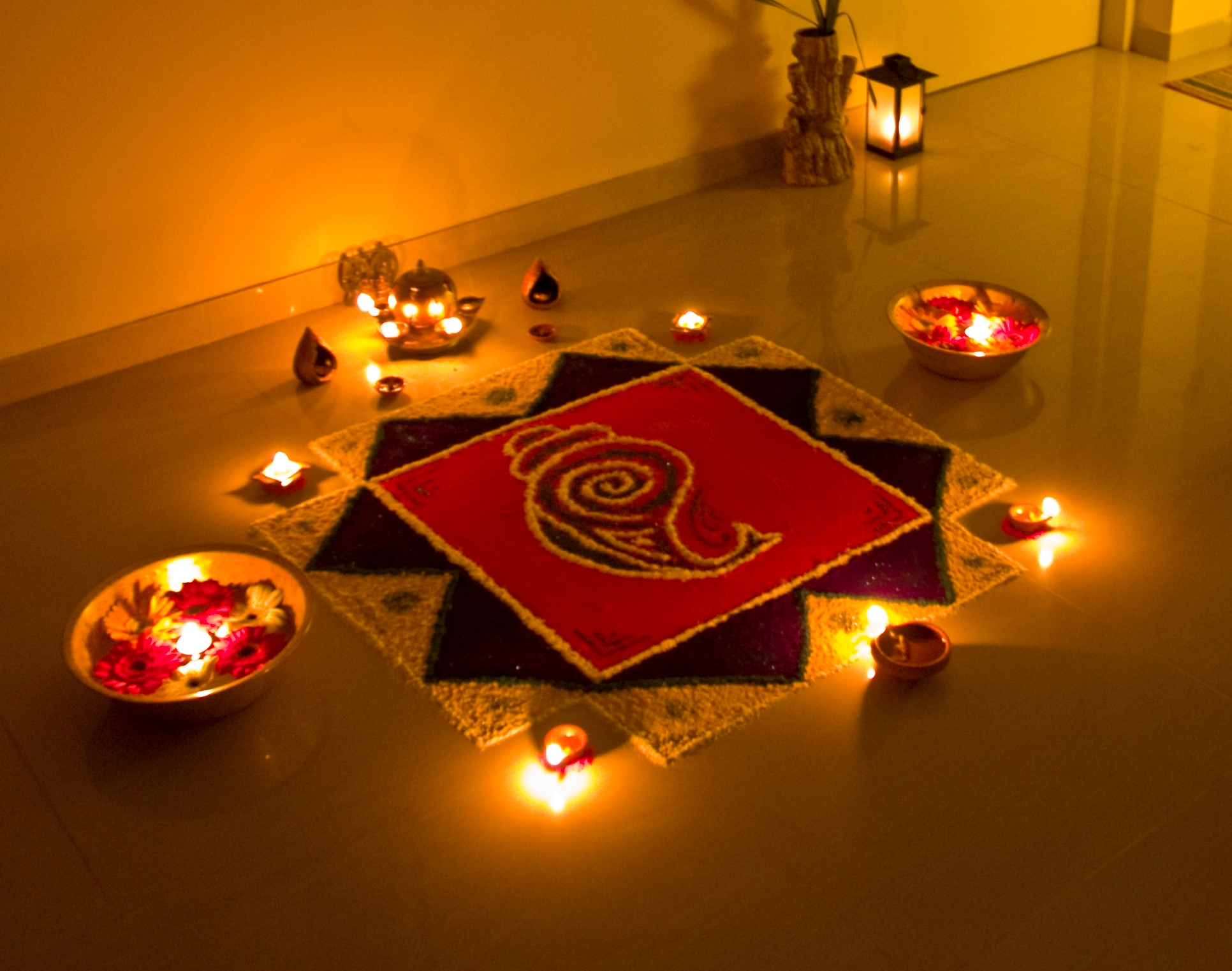 Deepwali-rangoli-decoration