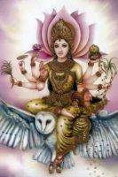 Owl Tantra – Attract Wealth  Amulet