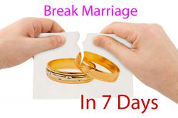 Break Marriage In 7 Days Vashikaran Mantra