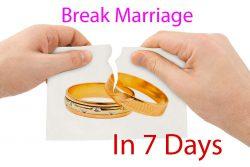 Break Marriage In 7 Days Vashikaran Mantra